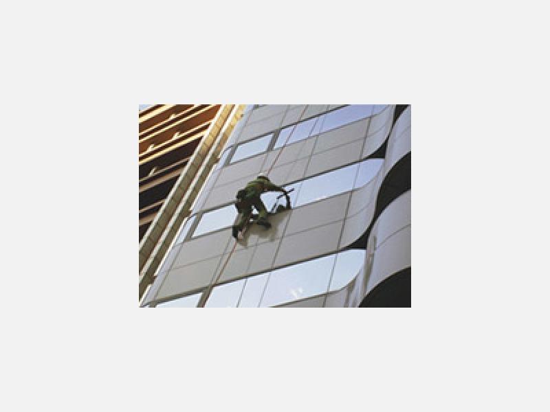 ◆ビルのガラス清掃・外壁清掃