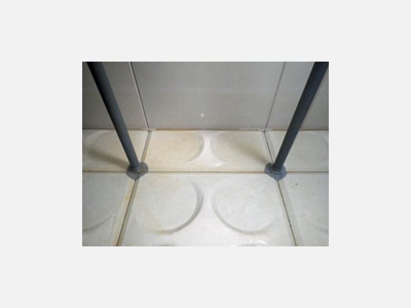 ◆飲料水水槽清掃後
