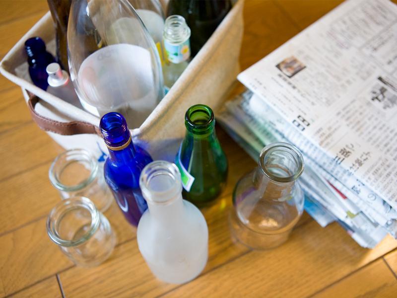 リサイクルで資源に生まれ変わります