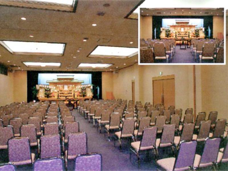 200人収容可能な大ホールと少人数でも利用可能な小ホール