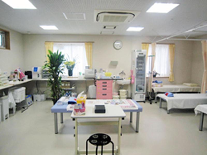 処置室/採血や点滴などのお部屋です