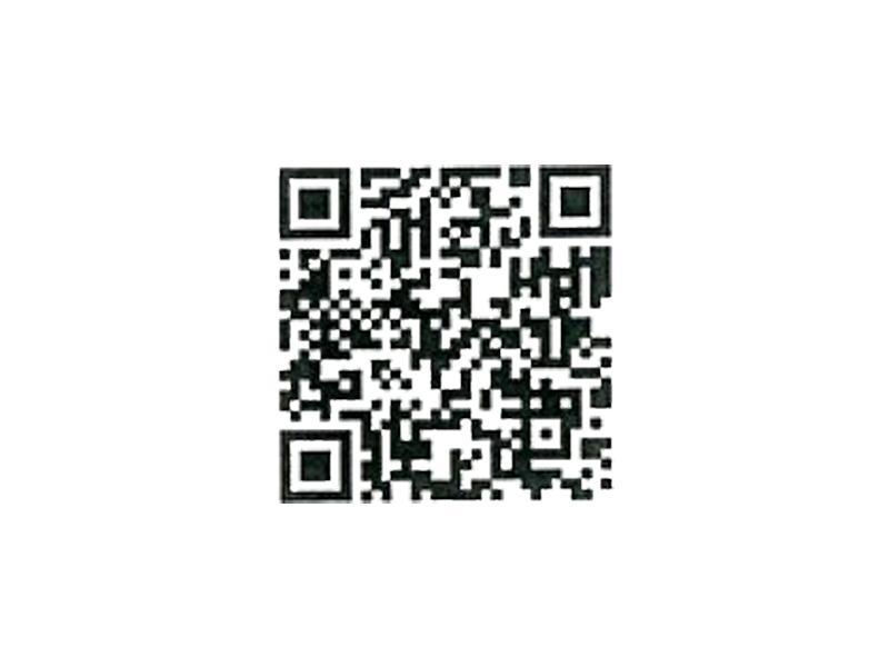 診療予約用二次元バーコード/携帯用