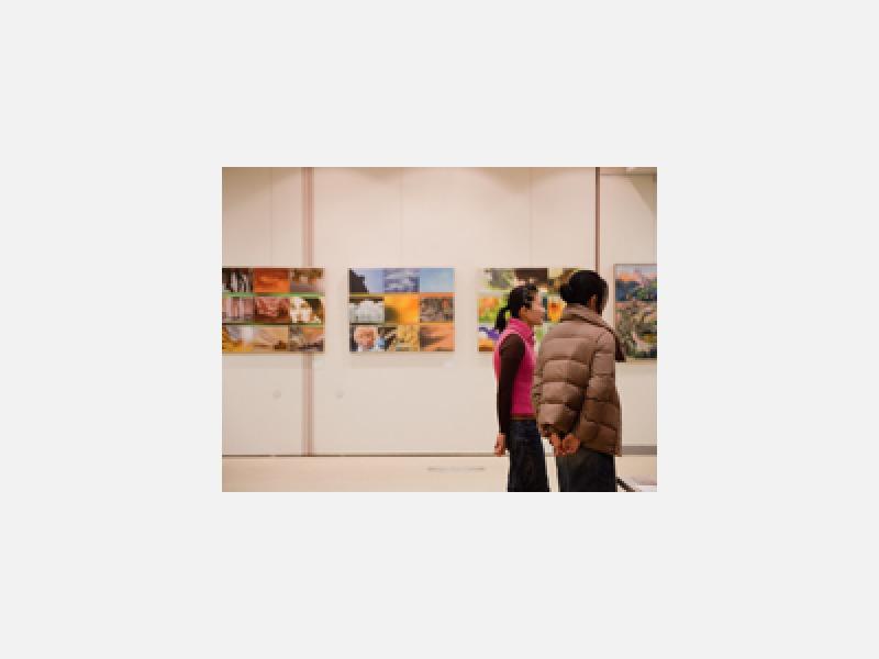 研究科展=三鷹市美術ギャラリー全館使用