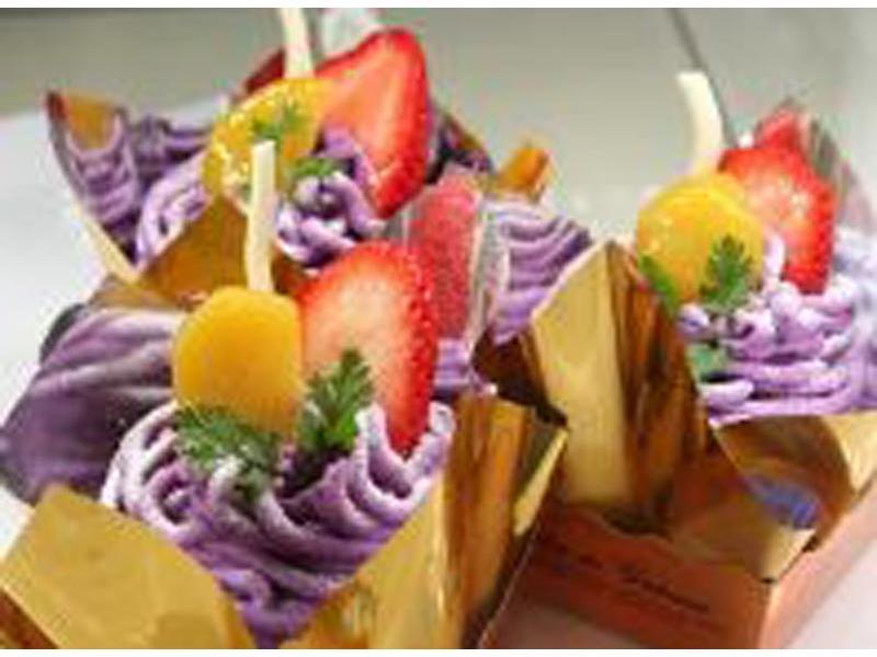 ★紫芋のモンブラン