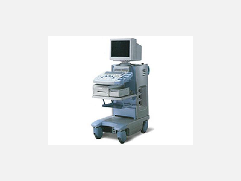 超音波診断装置 (痛み、被爆がなく安全です)
