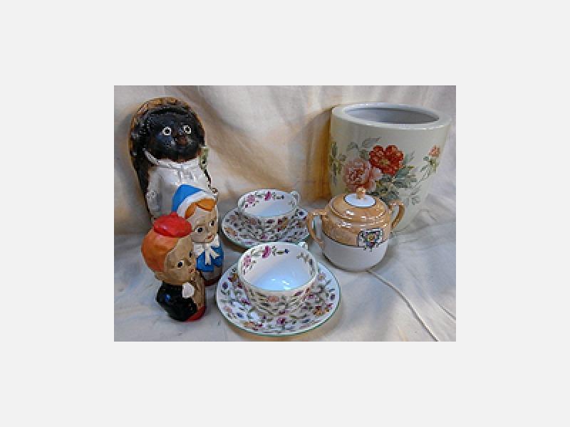 茶道具、着物、美術品