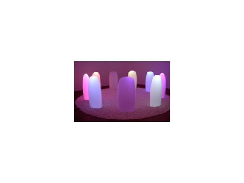 幻想的な光のオブジェ(森 万里子(C)2004)