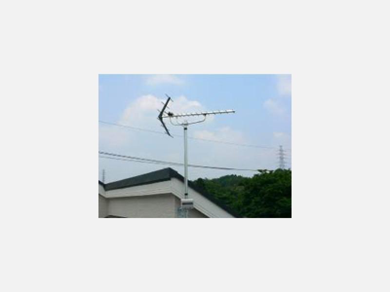 地上デジタル放送のアンテナ工事