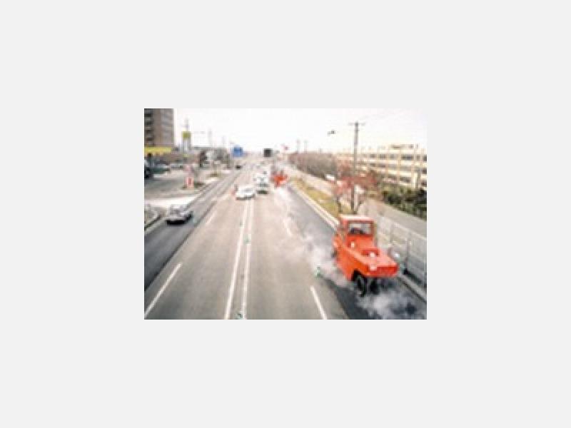 【施工例】国道44号線舗装工事
