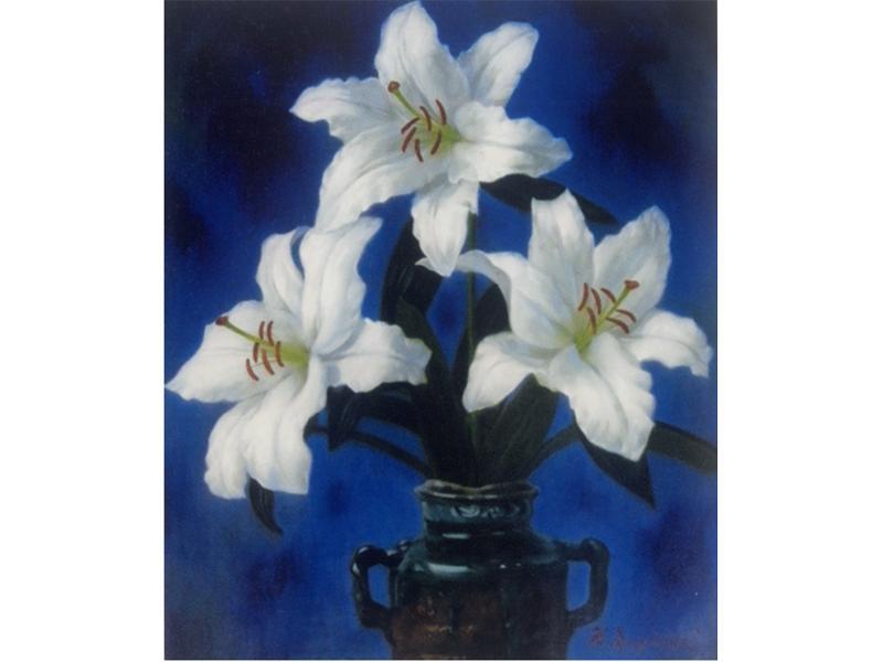 「百合の花」