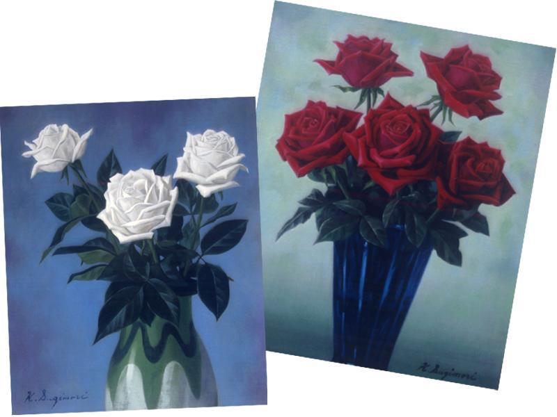 「薔薇の花」