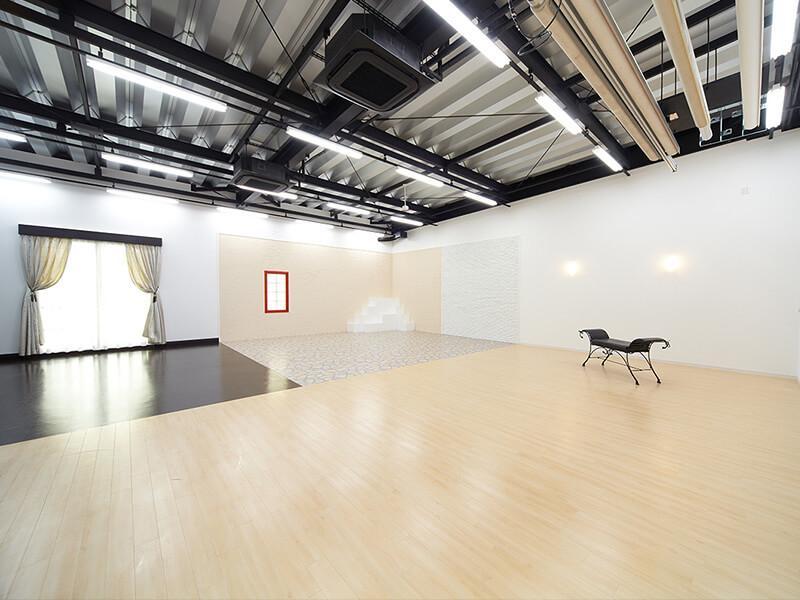 バリアフリーのスタジオです