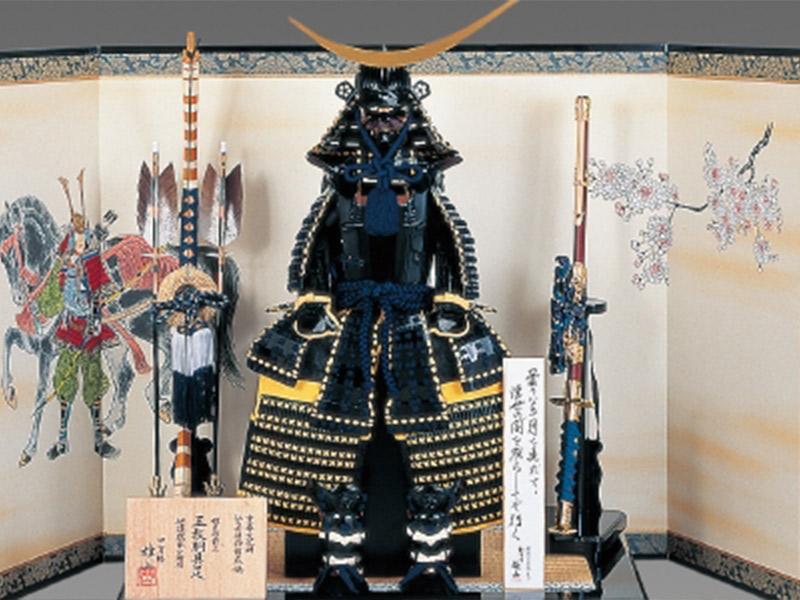鎧も神奈川県最大級の品揃え