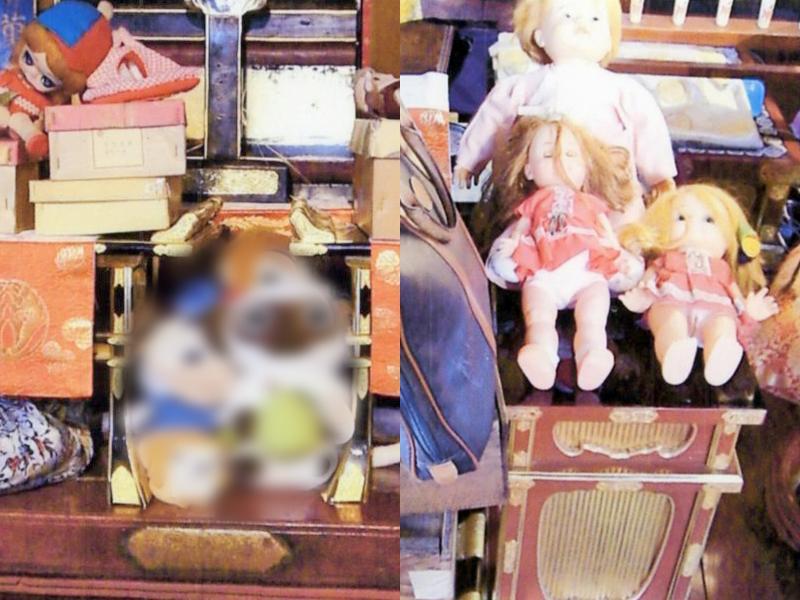 遺品・仏具・人形供養の品々です