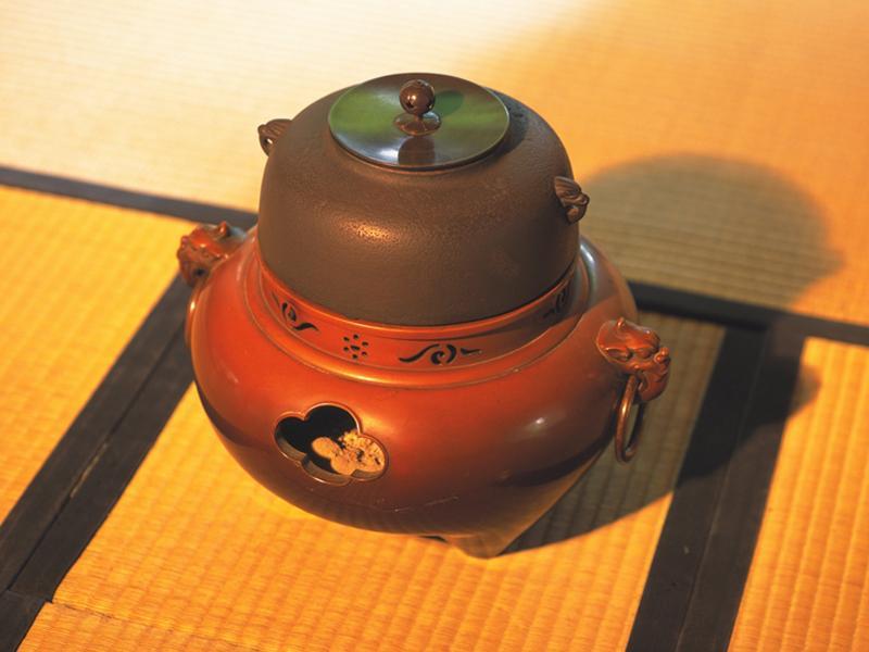 茶道具、釜、茶碗、茶入、棗、香合