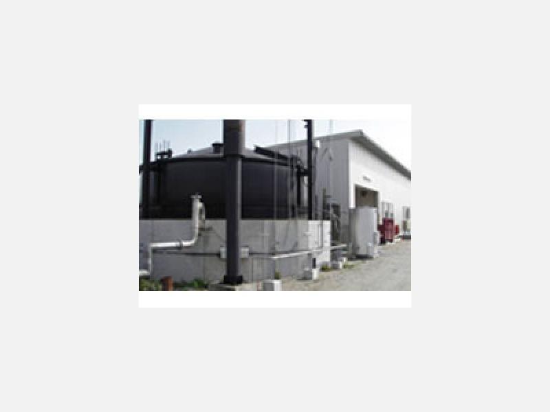 メタン発酵施設