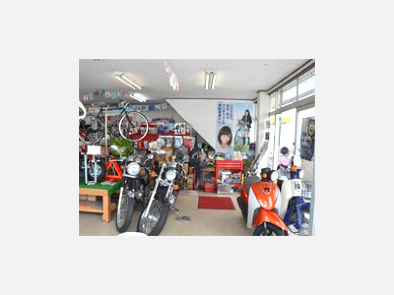 他店でお買い上げの自転車・バイクも修理いたします
