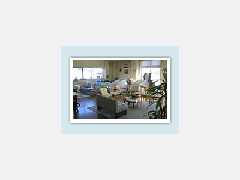 温熱治療器のあるリハビリ室