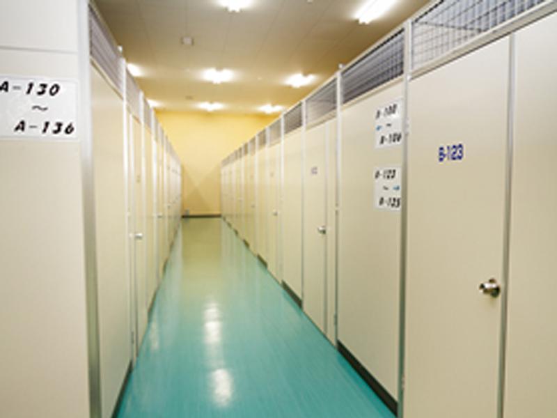 プライバシーを守る完全個室の部屋タイプ