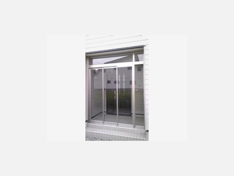 玄関風除室スリム吊り戸タイプ