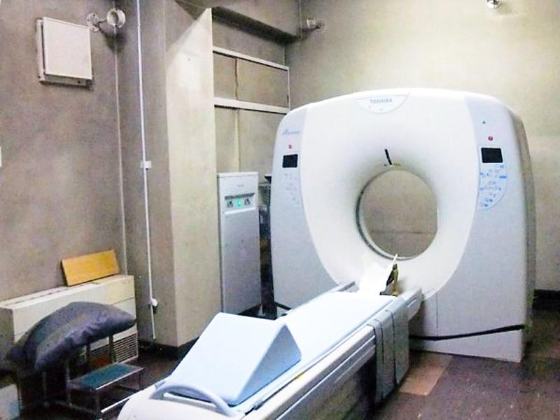 CT検査(新しいCTスキャナー導入)