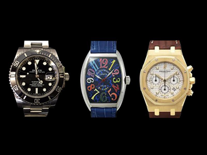 ブランド時計の買取り
