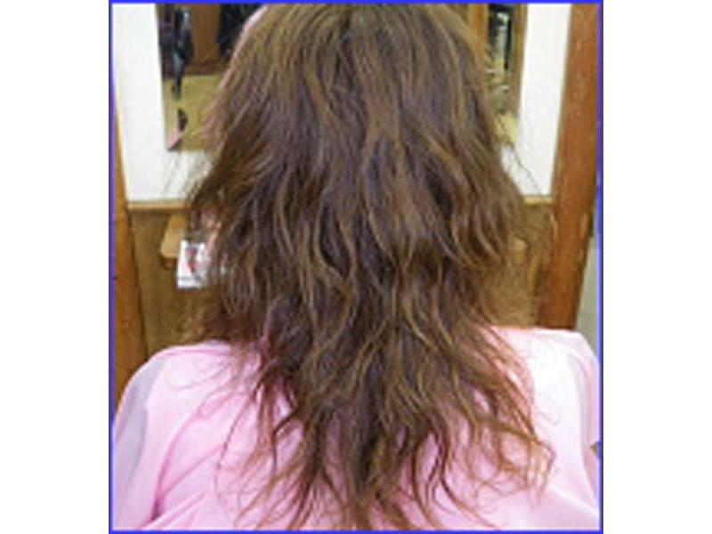 水と空気にこだわり、特別な水で、髪に優しいパーマを