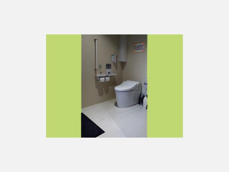 トイレ 車椅子利用可