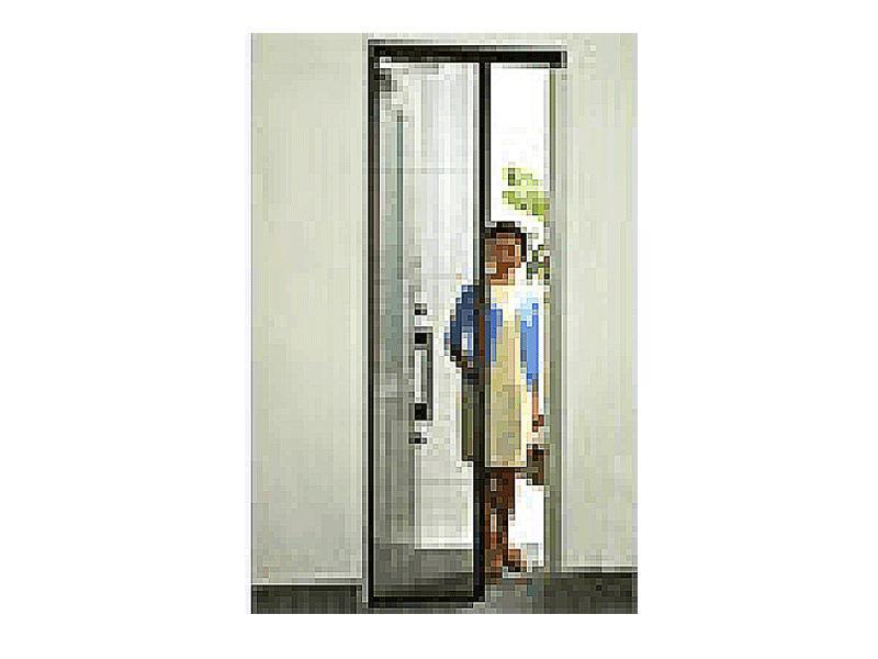 簡単に取外しができる玄関・勝手口用の網戸です。