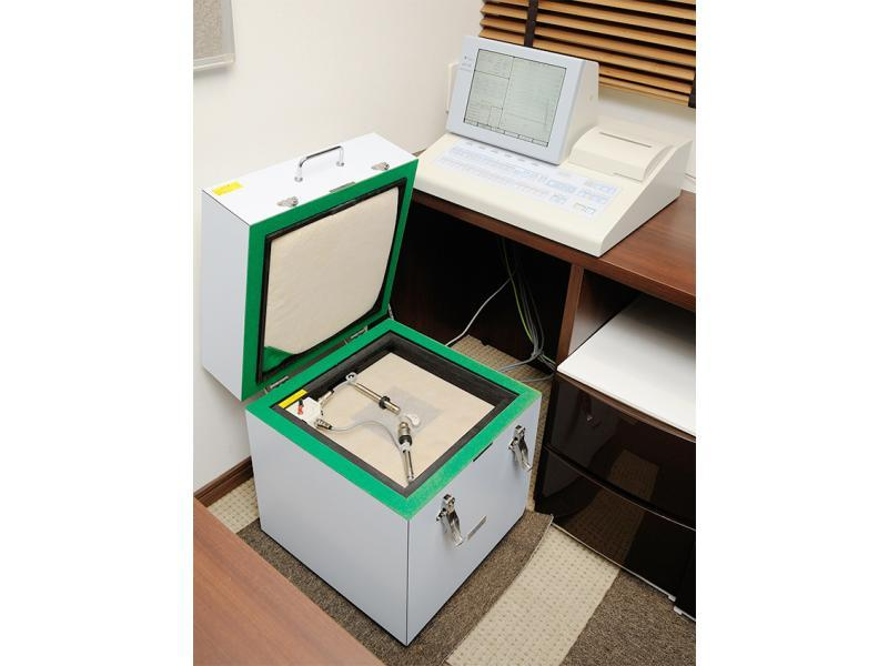 測定機器・検査室等の設備を完備しています