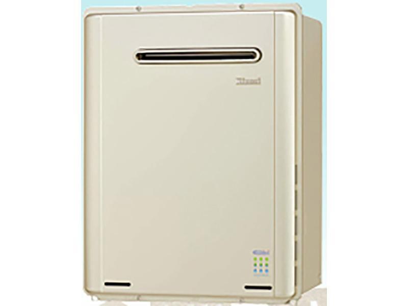 床暖房の能力が抜群!ガス給湯暖房機。