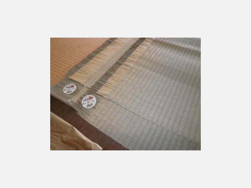 当店では国産畳表を使用しております!