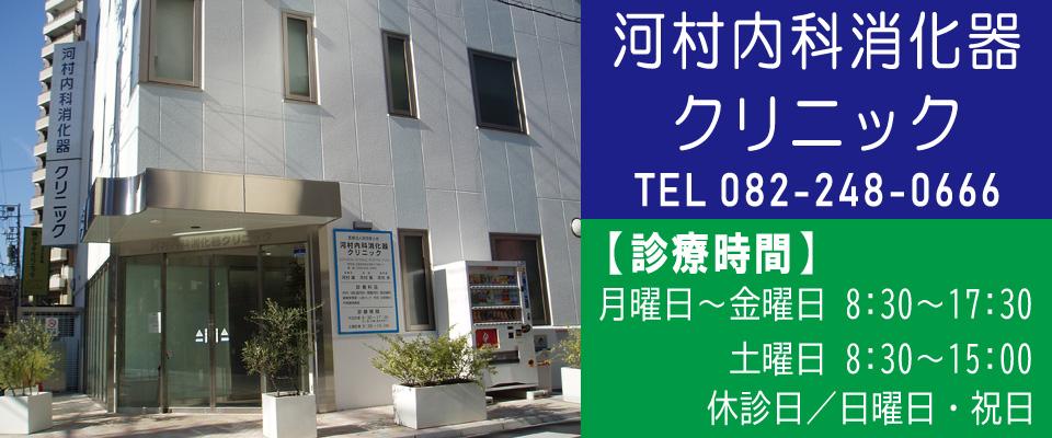広島市中区 内科 胃腸内科