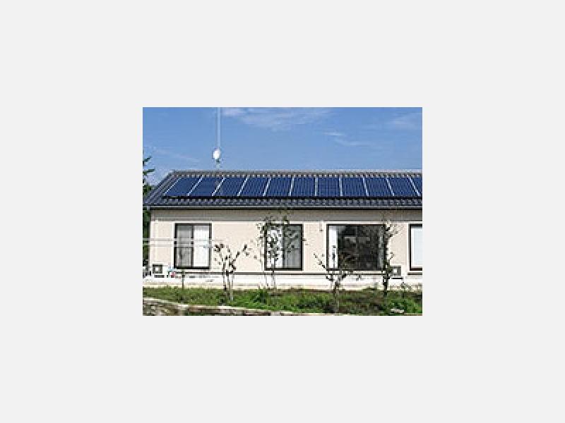 SUNVISTA 太陽光発電の家