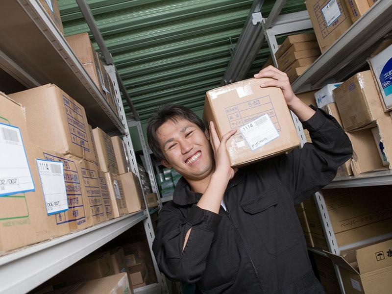荷物の保管等、小回りのきくサービスに努めています!