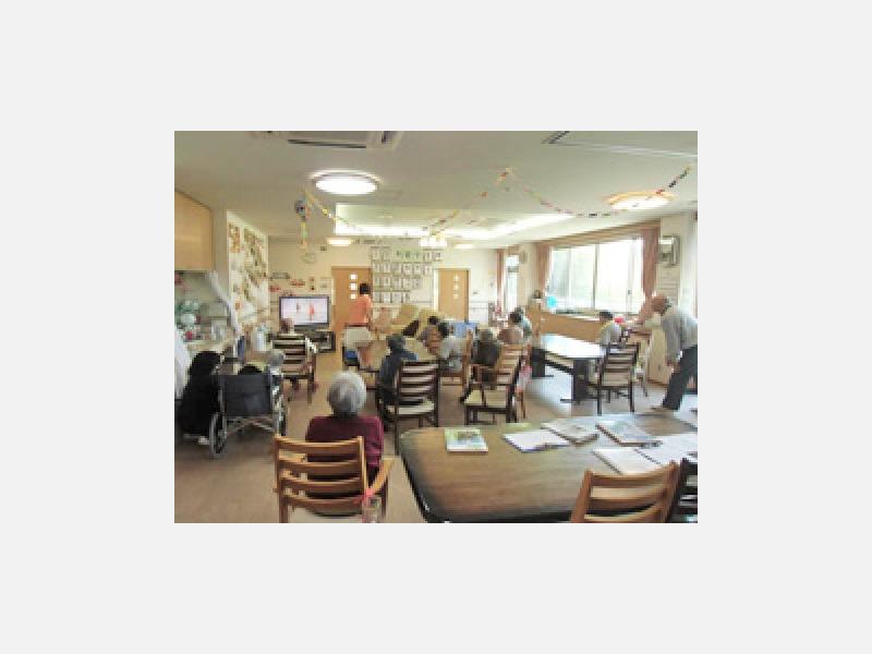 小規模多機能型居宅介護『つどい』 談話室