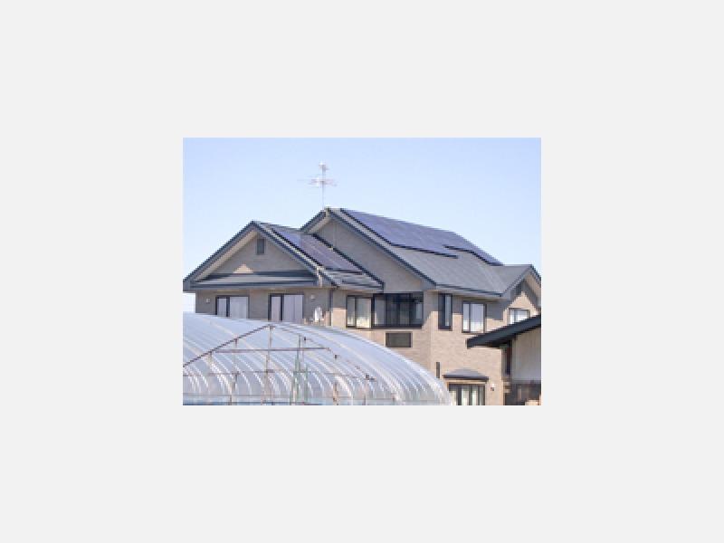 太陽光発電、屋根