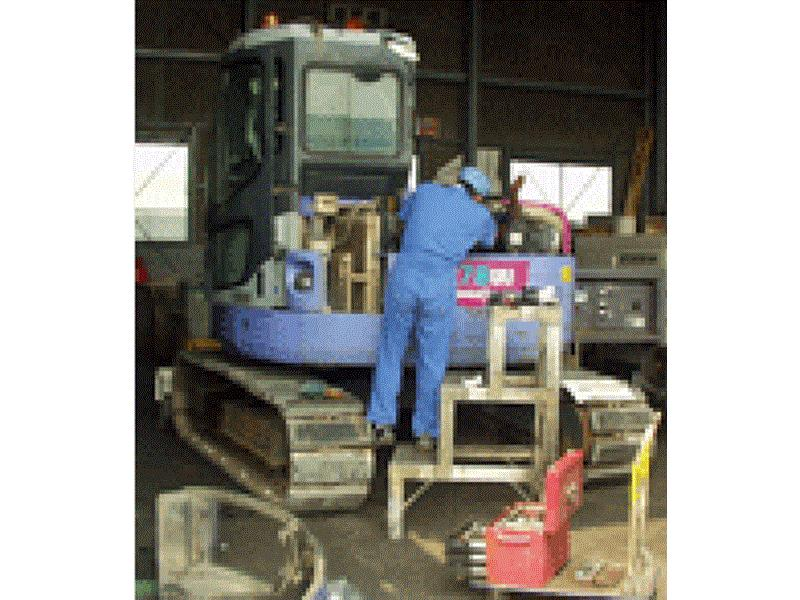 特殊車両の車検、修理、整備