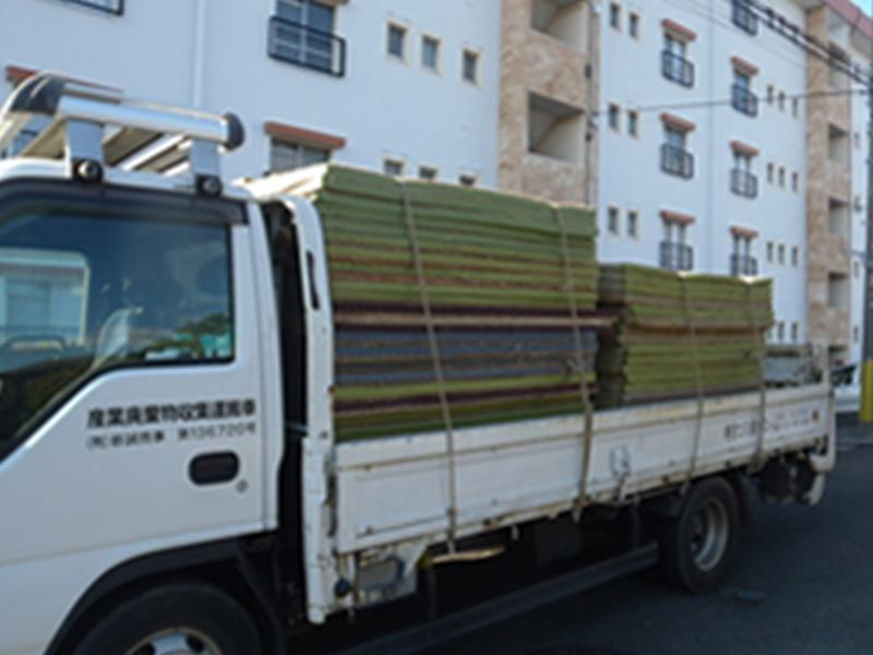 畳などかさばるゴミも/神奈川県 処分屋シンセイ