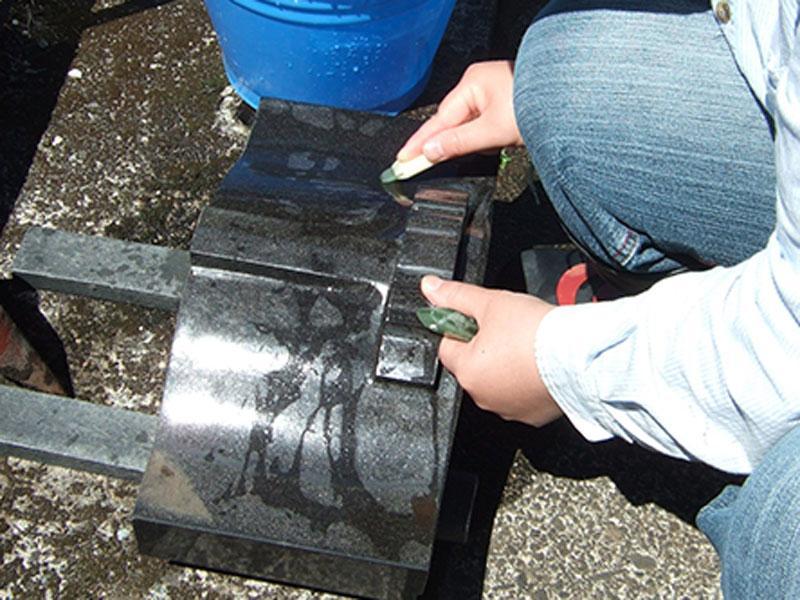 石材の防水・撥水処理