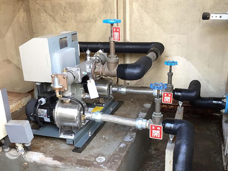 受水槽用加圧ポンプ
