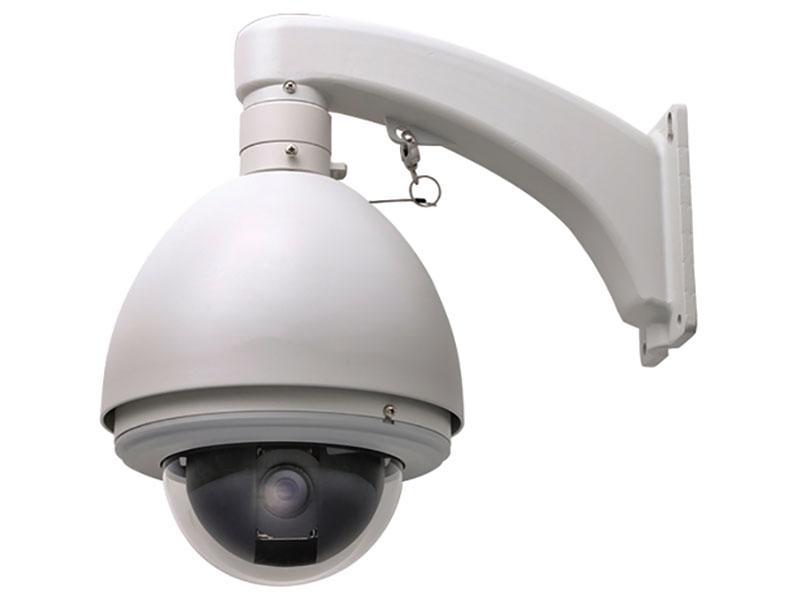 屋外用ドームカメラ