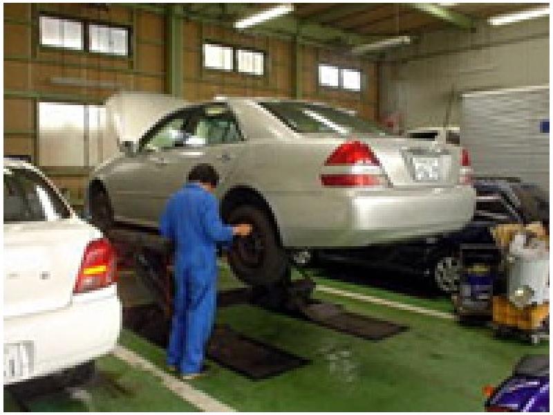 国産、外車も整備可能です