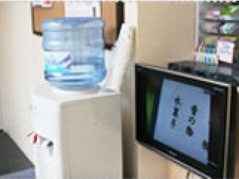 TV・飲料水完備