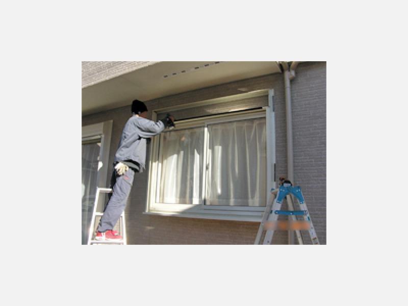 窓シャッター取付