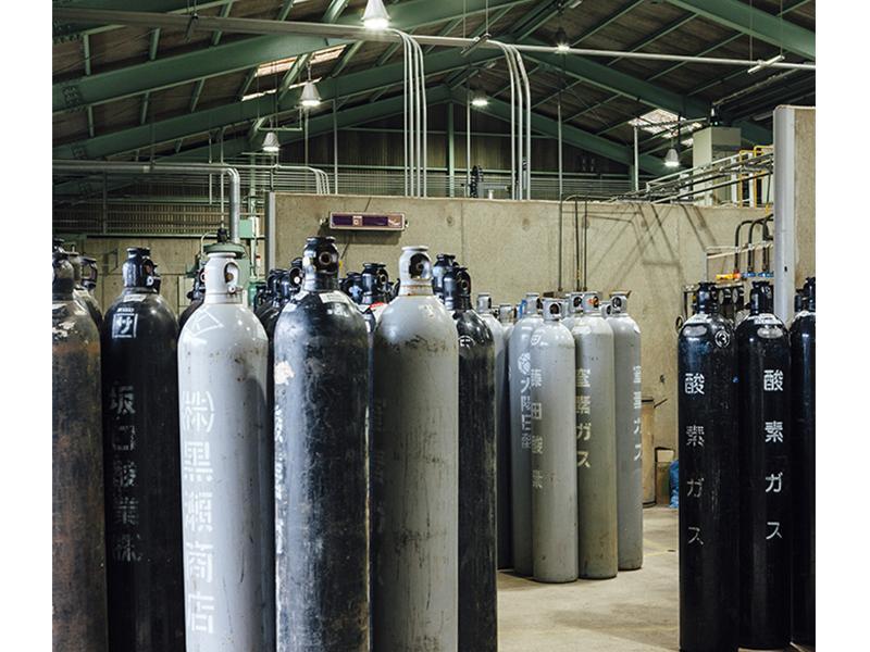 溶接、溶断用工業用ガス・他各種ガス取扱い
