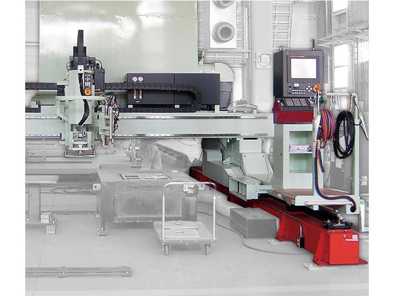 溶接ロボット、プラズマ切断機、レーザー加工機等