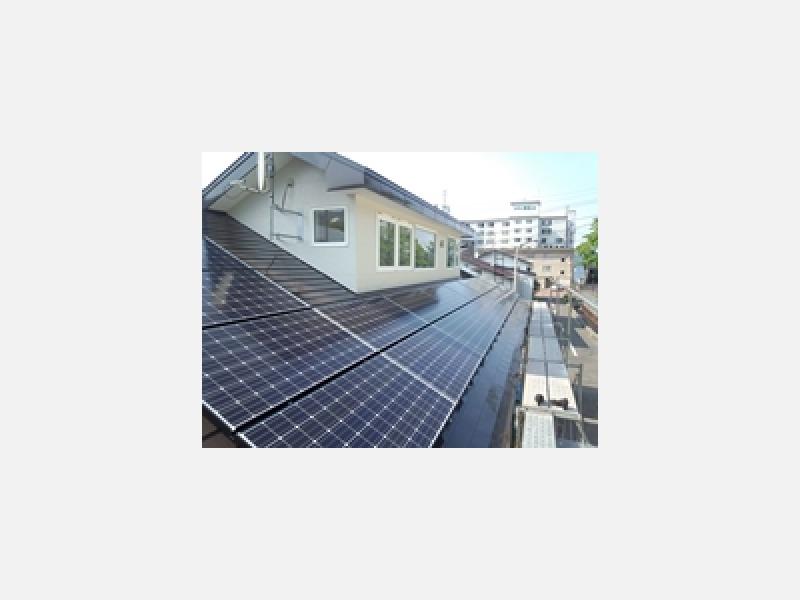 太陽光パネル設置で、環境に優しく光熱費もダウン!