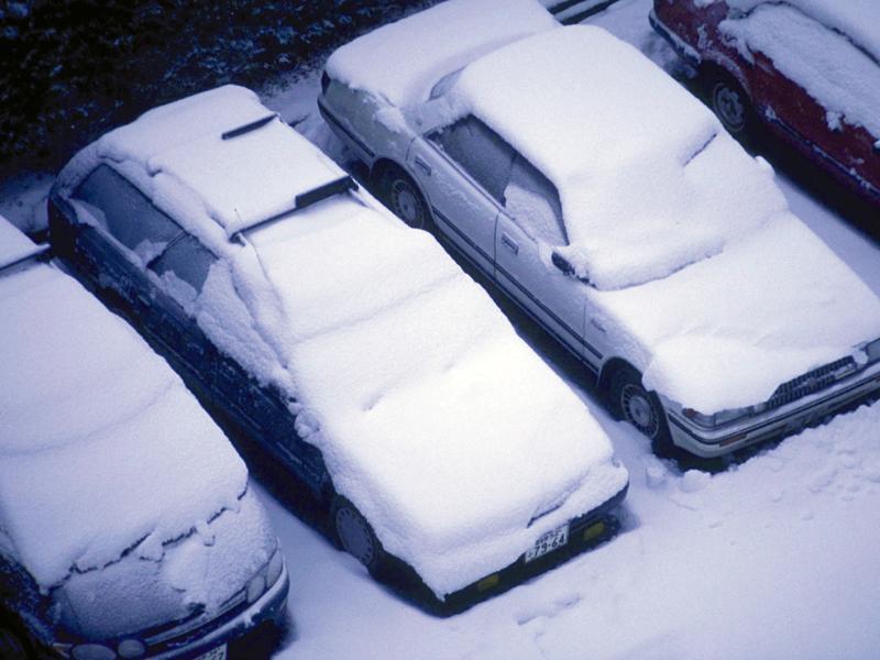 駐車場の融雪システム