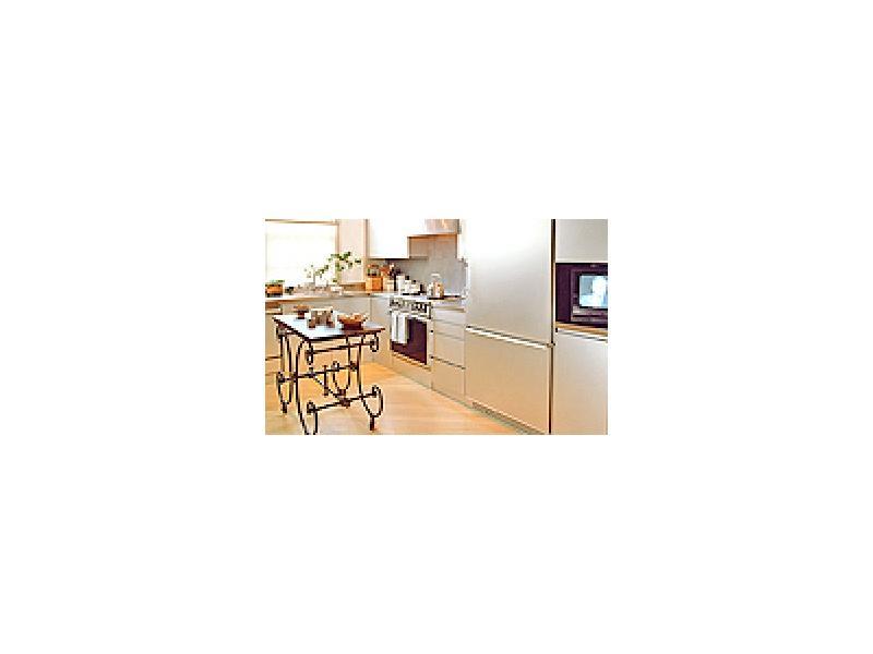 台所の床にクッションフロアー、カーペット等